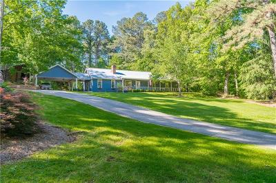 Forsyth County Single Family Home For Sale: 4180 Hurt Bridge Road