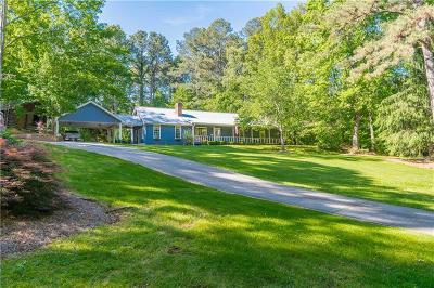 Cumming Single Family Home For Sale: 4180 Hurt Bridge Road