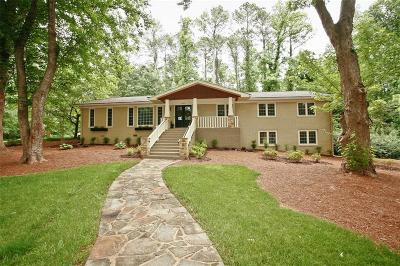 Dunwoody Single Family Home For Sale: 4451 Shelborne Drive