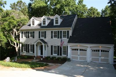 Cobb County Single Family Home For Sale: 5041 Lake Terrace