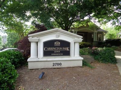 Atlanta Condo/Townhouse For Sale: 2700 Pine Tree Road NE #2113