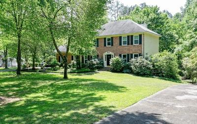Powder Springs Single Family Home For Sale: 3461 Wilderness Drive