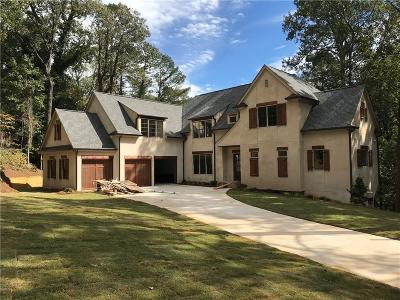Sandy Springs Single Family Home For Sale: 5335 Mount Vernon Parkway