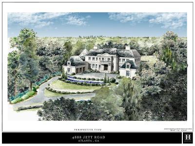 Sandy Springs Residential Lots & Land For Sale: 4888 Jett Road