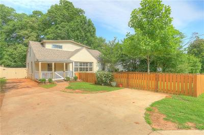 Decatur Single Family Home For Sale: 923 S Candler Street