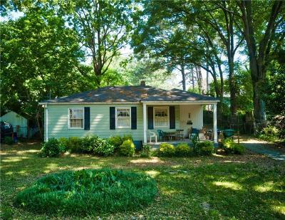 Atlanta Single Family Home For Sale: 1903 Sumter Street NW