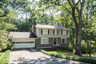 Dunwoody Single Family Home For Sale: 2590 Bentbrook Court