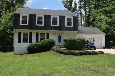 Peachtree City Single Family Home For Sale: 232 Cedar Drive