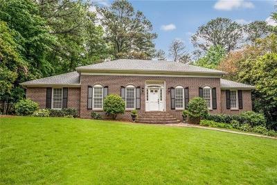 Vinings Single Family Home For Sale: 4129 Brookview Drive SE