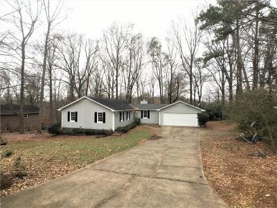 Marietta Single Family Home For Sale: 3015 Susan Court
