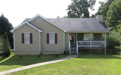 Winder Single Family Home For Sale: 561 Hickeria Way
