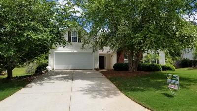 Lawrenceville Single Family Home For Sale: 470 Windsor Brook Lane SE