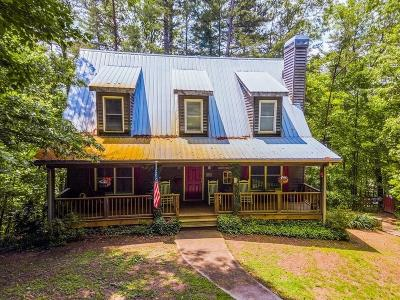 Dahlonega Single Family Home For Sale: 84 Yahoola Shoals Drive