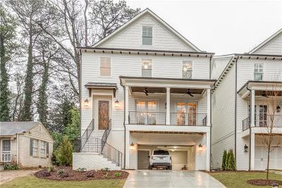 Peachtree Park Single Family Home For Sale: 637 Timm Valley Road NE