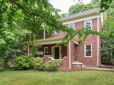 Druid Hills Single Family Home For Sale: 1405 Cornell Road NE