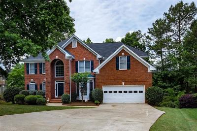 Suwanee Single Family Home For Sale: 2292 Lake Haven Way