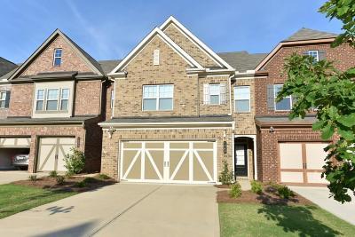 Alpharetta Condo/Townhouse For Sale: 1340 Hampton Oaks Drive