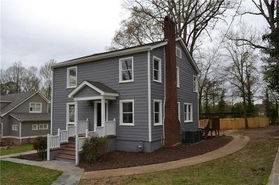 Smyrna Single Family Home For Sale: 3138 Dunn Street SE