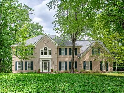 Sandy Springs Single Family Home For Sale: 345 Cameron Ridge Drive