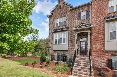 Alpharetta GA Condo/Townhouse For Sale: $408,900