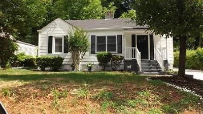 Marietta Single Family Home For Sale: 407 Alexander Circle SE