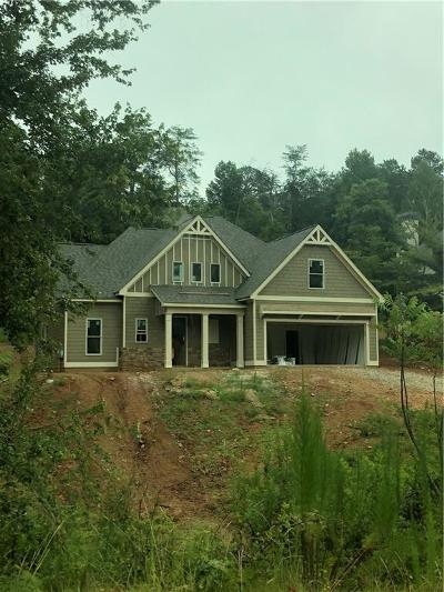 Dawsonville Single Family Home For Sale: Lot 28 Dawson Manor Court