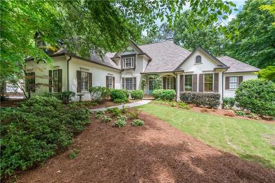 Kennesaw Single Family Home For Sale: 4738 Talleybrook Drive NW