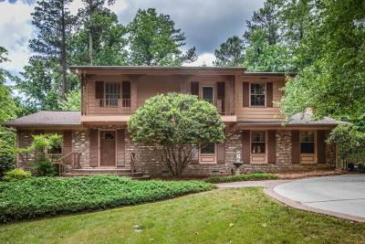 Dunwoody Single Family Home For Sale: 4764 Cherring Drive