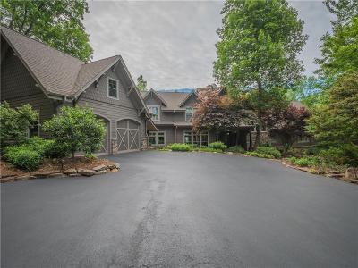 Big Canoe Single Family Home For Sale: 1149 Cox Mountain Drive
