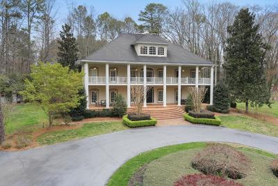 Marietta Single Family Home For Sale: 710 Walnut Drive SW