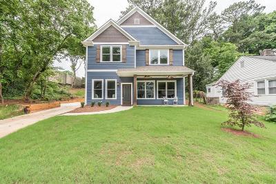 Single Family Home For Sale: 281 Lamon Avenue SE