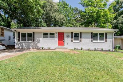 Atlanta Single Family Home For Sale: 1824 Evans Drive SW