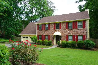 Marietta Single Family Home For Sale: 328 Millbrook Farm Road