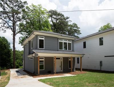 Single Family Home For Sale: 2137 Main Street NW