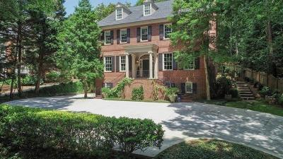 Atlanta Single Family Home For Sale: 2627 Howell Mill Road NW