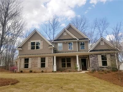 Ball Ground Single Family Home For Sale: 8665 Etowah Bluffs