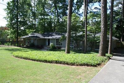 Dunwoody Single Family Home For Sale: 1029 Coronation Drive