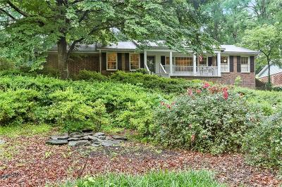 Sandy Springs Single Family Home For Sale: 355 Forest Valley Court