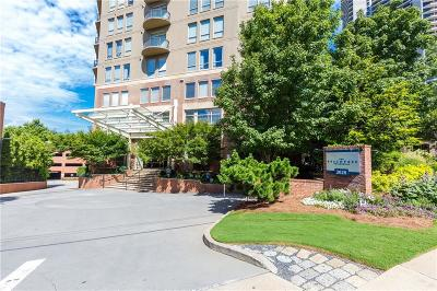 Condo/Townhouse For Sale: 2626 Peachtree Road NW #1607