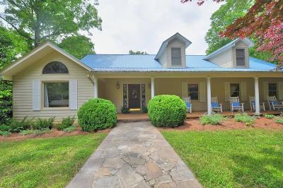 Dahlonega Single Family Home For Sale: 985 Grindle Bridge Road