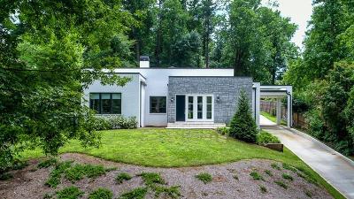 Druid Hills Single Family Home For Sale: 1975 Ponce De Leon Avenue NE