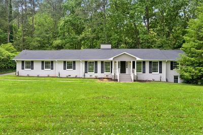 Marietta Single Family Home For Sale: 636 Bouldercrest Drive SW