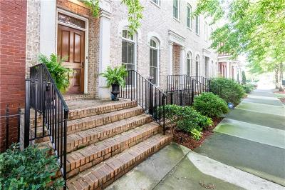 Inman Park Condo/Townhouse For Sale: 837 Inman Village Parkway