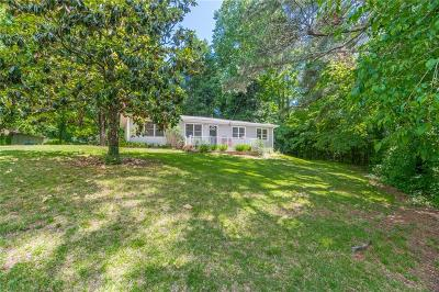 Milton  Single Family Home For Sale: 13675 New Providence Road
