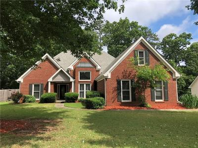 Suwanee Single Family Home For Sale: 110 Roberts Road