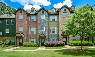 Brookhaven Condo/Townhouse For Sale: 3690 Ashford Creek Trail NE