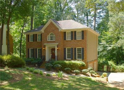 Peachtree Corners, Norcross Single Family Home For Sale: 4642 Riveredge Drive