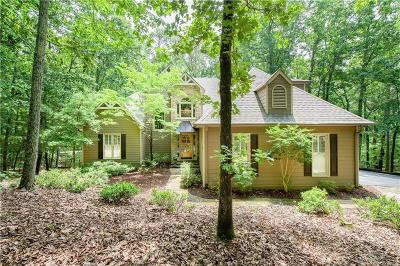 Big Canoe Single Family Home For Sale: 393 Red Coat Pass