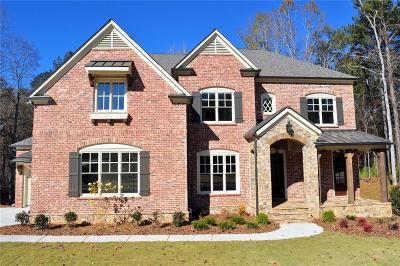 Acworth Single Family Home For Sale: 5272 Merlot Drive NW