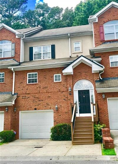 Dunwoody Condo/Townhouse For Sale: 1578 Chateau Club
